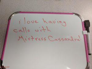 A Giantess Christmas Fantasy: Mistress Cassandra 1-800-730-7164