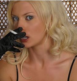 Smoking Fetish Is A Dirty Habit: Ms Cassandra 1-800-730-7164