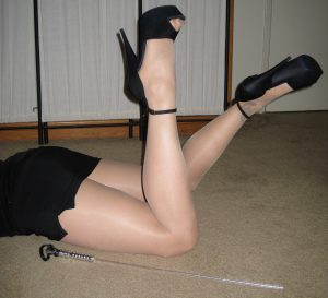 Cane Domination : Elegant & Functional: Mistress Cassandra 1-800-730-7164